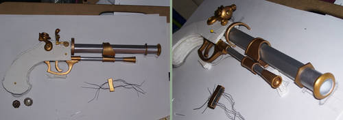 Fable III Reaver Pistol - WIP by jacemoore