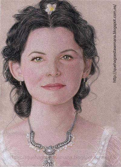 Ginnifer Goodwin /Snow White by vegetanivel2