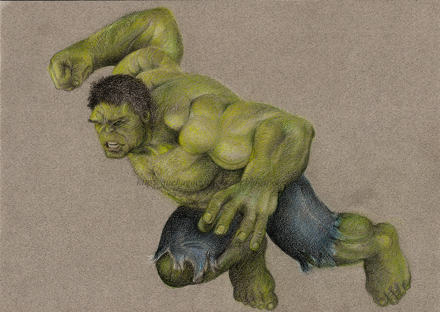 Hulk by vegetanivel2