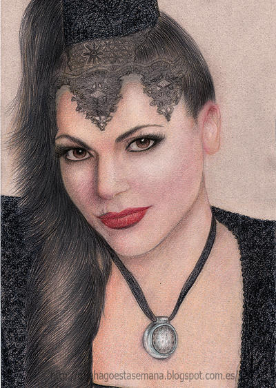 Lana Parrilla/Evil Queen by vegetanivel2