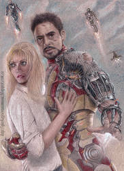 Iron Man 3 by vegetanivel2