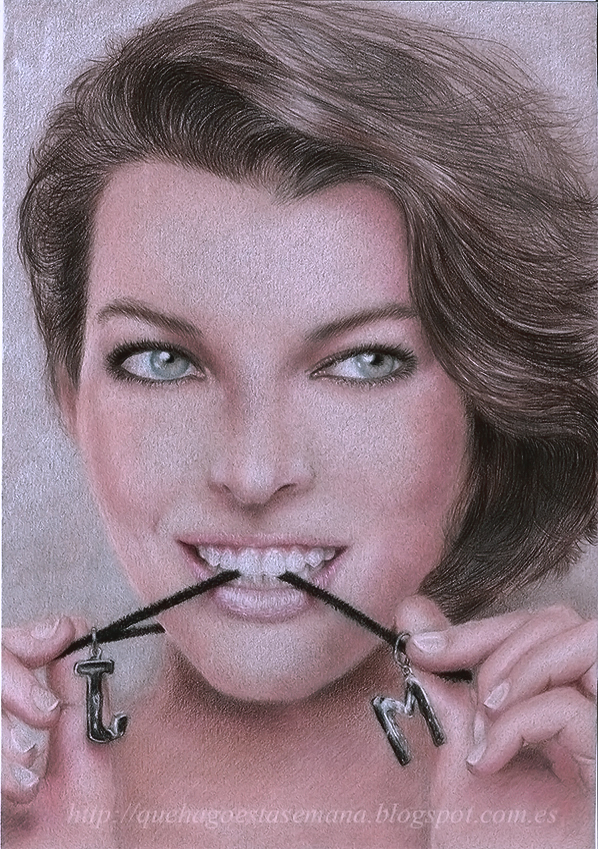 Milla Jovovich 2014 by vegetanivel2