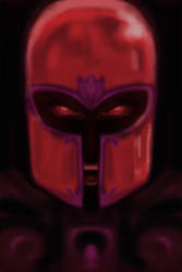 iPhone Sketch 04 - Magneto by CRSLozada