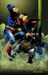 Batman Versus Superman by CRSLozada