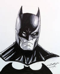 Batman Sketch by CRSLozada