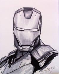 Iron Man Sketch by CRSLozada