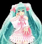 Miku Hatsune Render