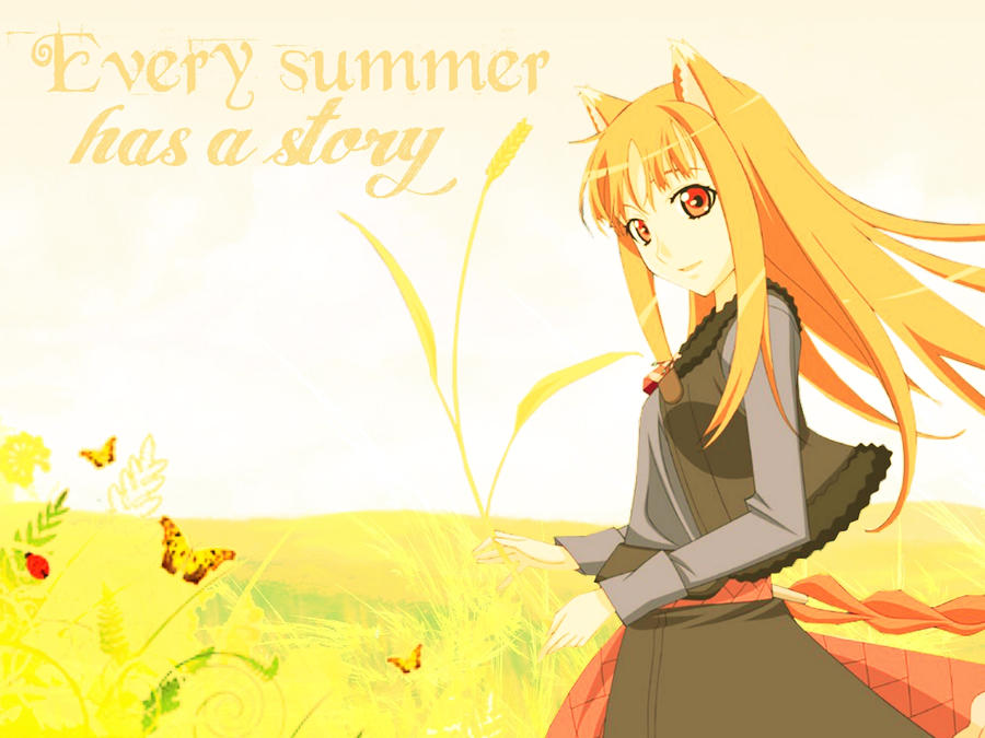 Spice And Wolf Wallpaper By Zombieusagi