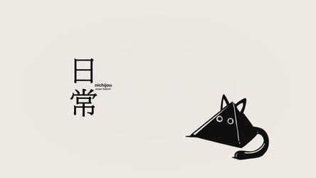 nichijou wallpaper 2