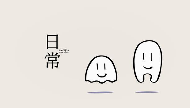 nichijou wallpaper 3
