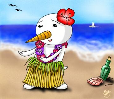 Hawaiian Plue by Nevatariel