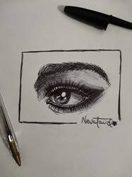 Eye - Pen sketch