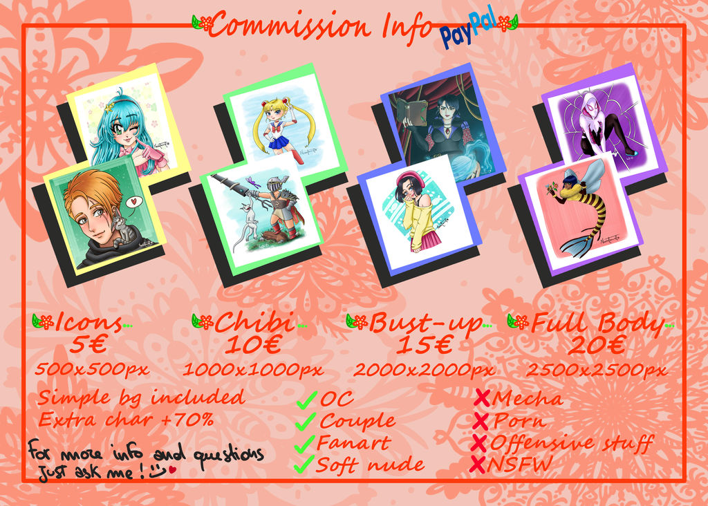 Commission Info 2021 - OPEN