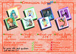 Commission Info 2021 - OPEN by Nevatariel
