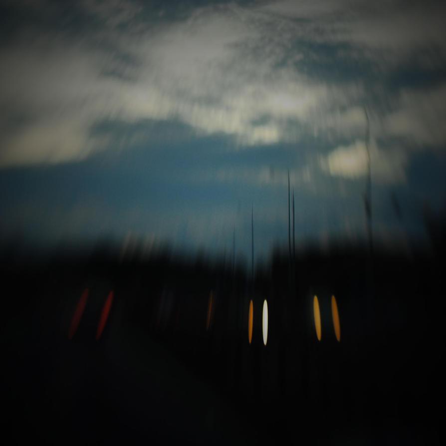 eyes in the dark by davespertine