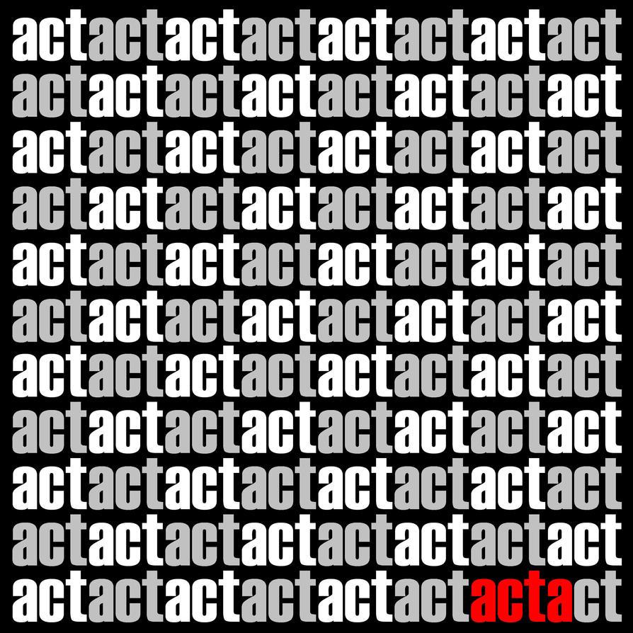 ACT by davespertine