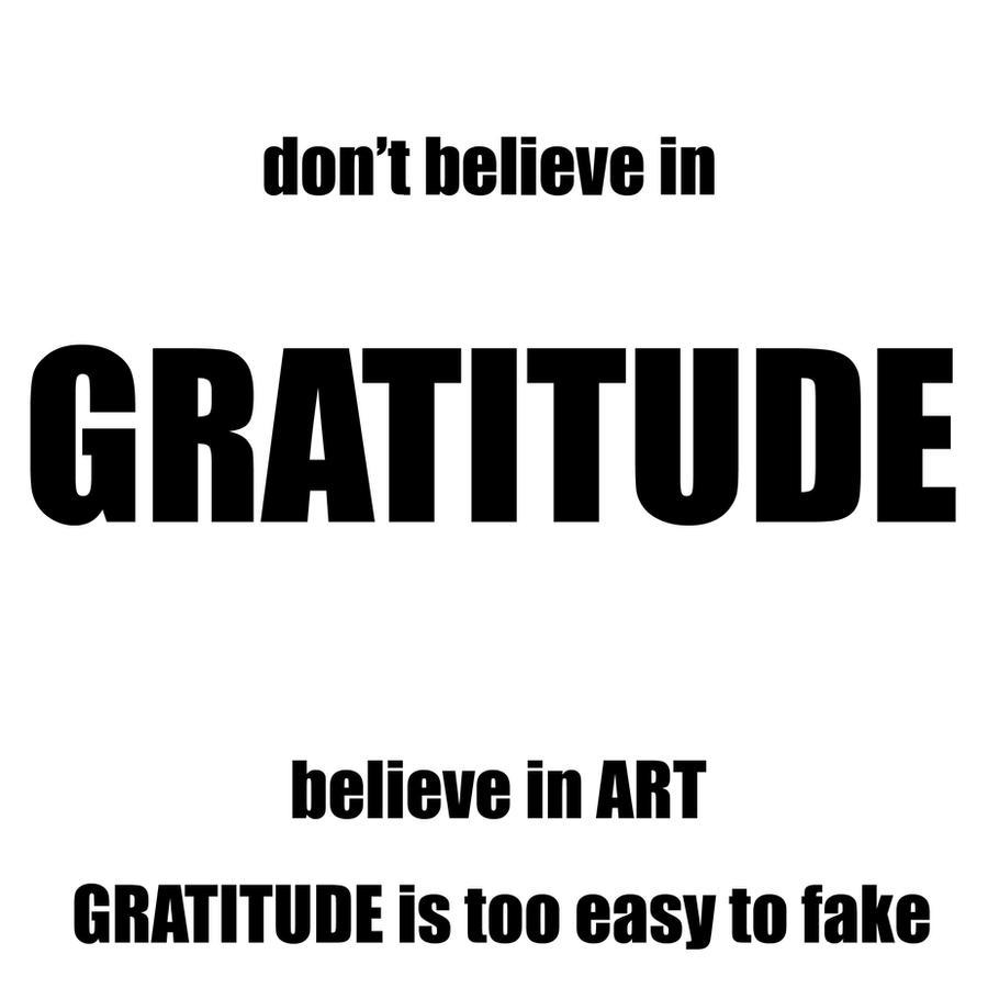 gratitude by davespertine