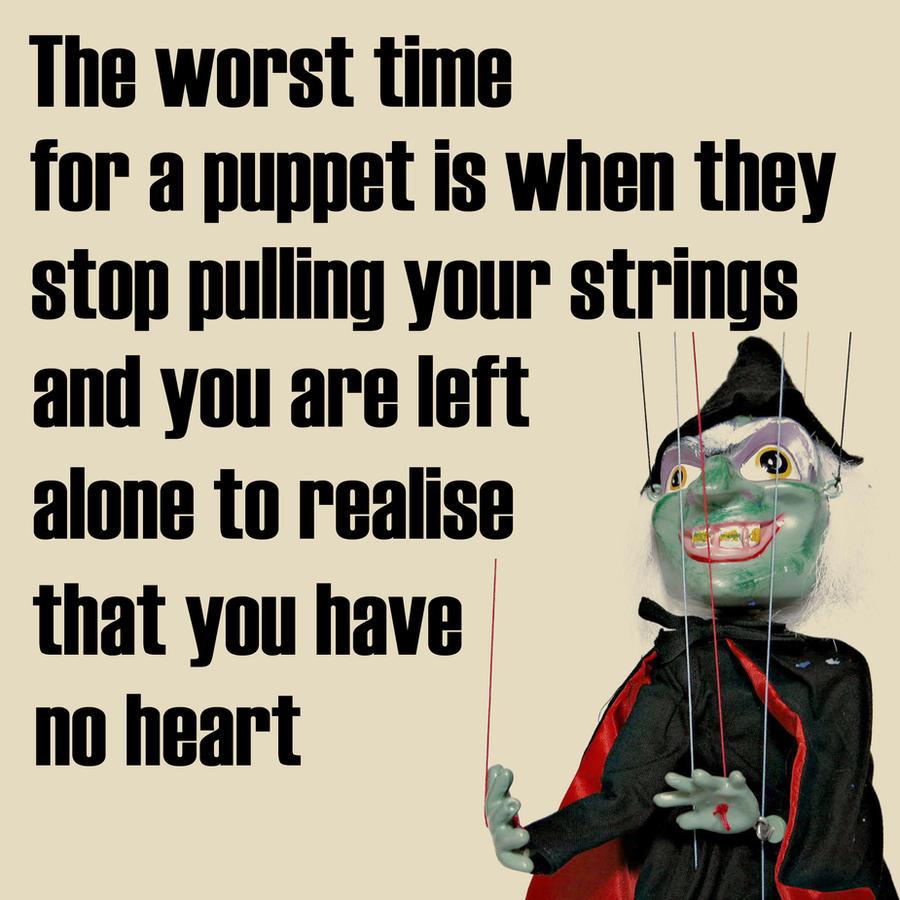 puppet on a string by davespertine