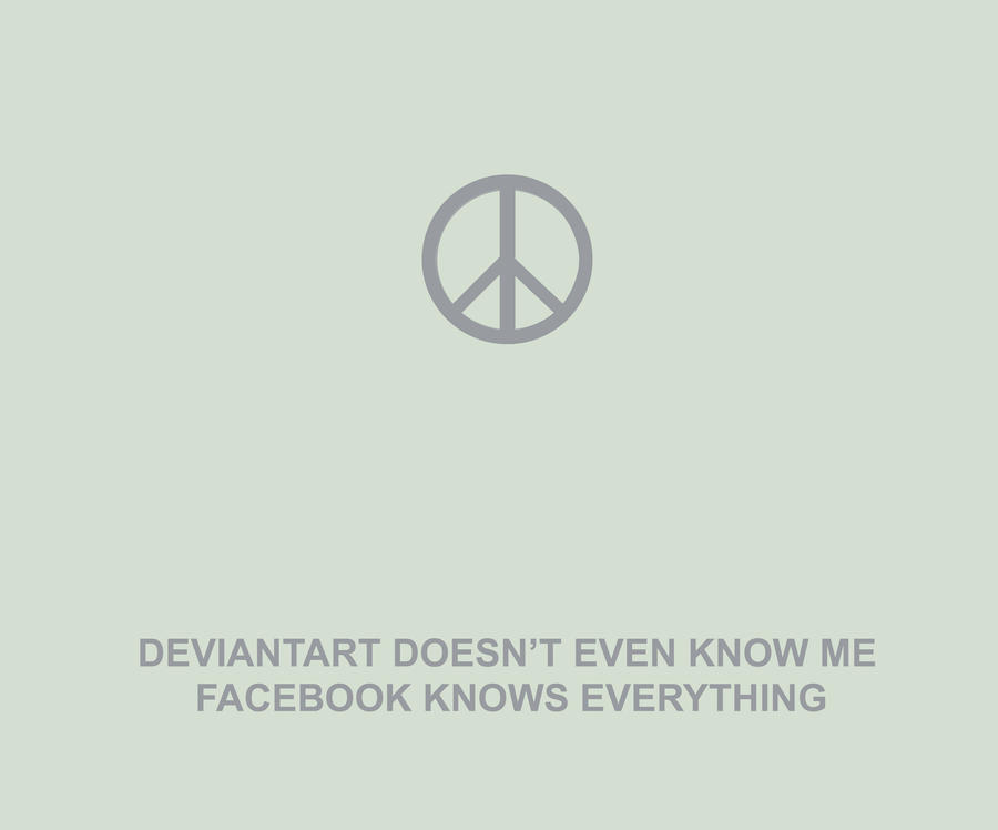 deviant art doesn't know me by davespertine