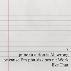 punkTuation