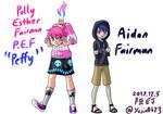 World or E.M. Fairman siblings Peffy and Aidan