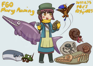Request from ratree2345- FGO Mary Anning