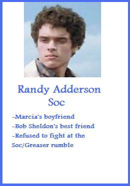 Randy Adderson Trading Card~ The Outsiders by ...