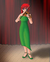 Ranko at the recital by Lawrachan