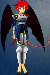 Cliched Fantasy Colored Armor