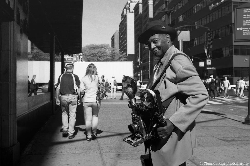 The Camera Man by hticonderoga