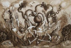 Tea party by MillerTanya