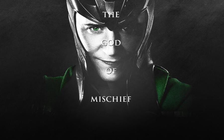 Loki Wallpaper by PoisonousKitten on