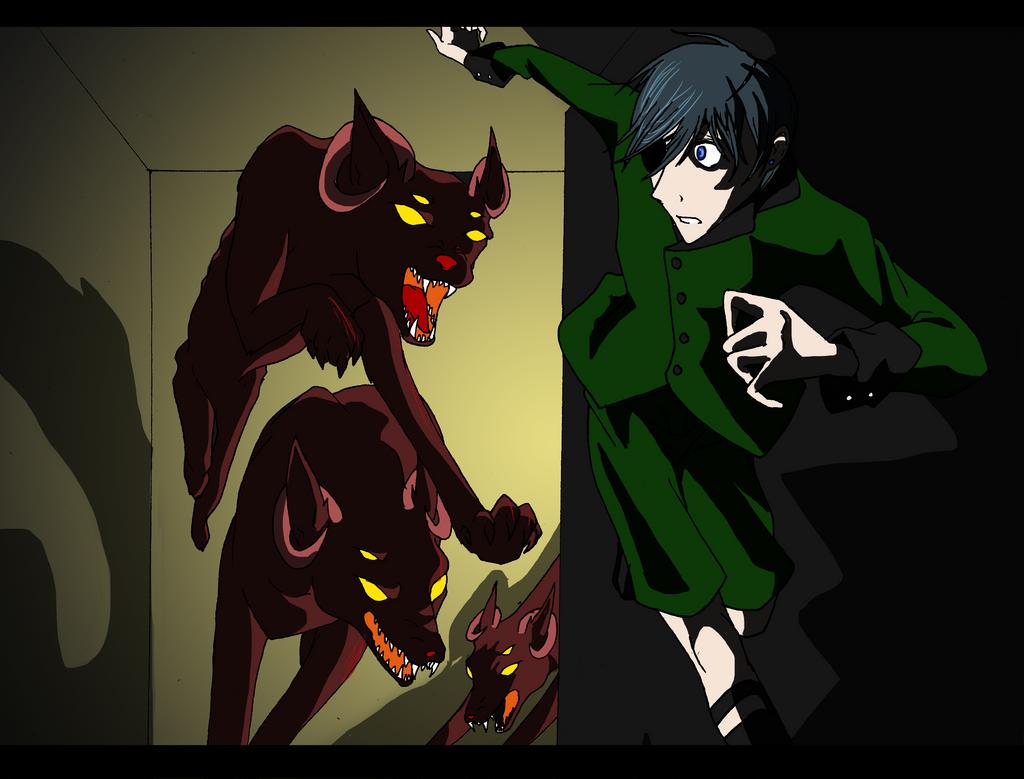 Kuroshitsuji - Cynophobia by Wolf-In-The-WallsCynophobia