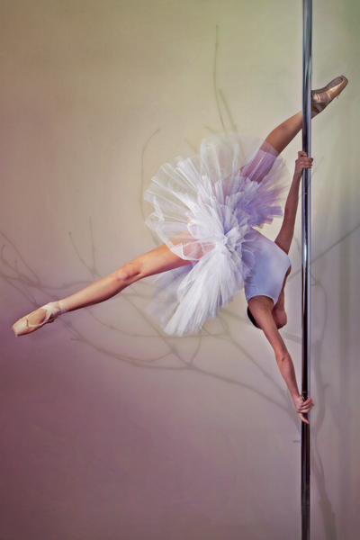 Vertical Ballet : Pole Art by kalaspuff