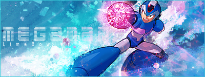 Megaman Signature by LimeBowler