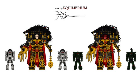 Warhammer40k-HORUS(caos, warmaster) BY EQUILIBRIUM by Agent3quilibrium