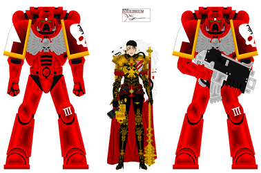 Inquisitor DelaCruz and Red Hunters BY EQUILIBRIUM by Agent3quilibrium