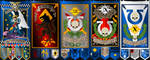 some warhammer banners BY EQUILIBRIUM by Agent3quilibrium