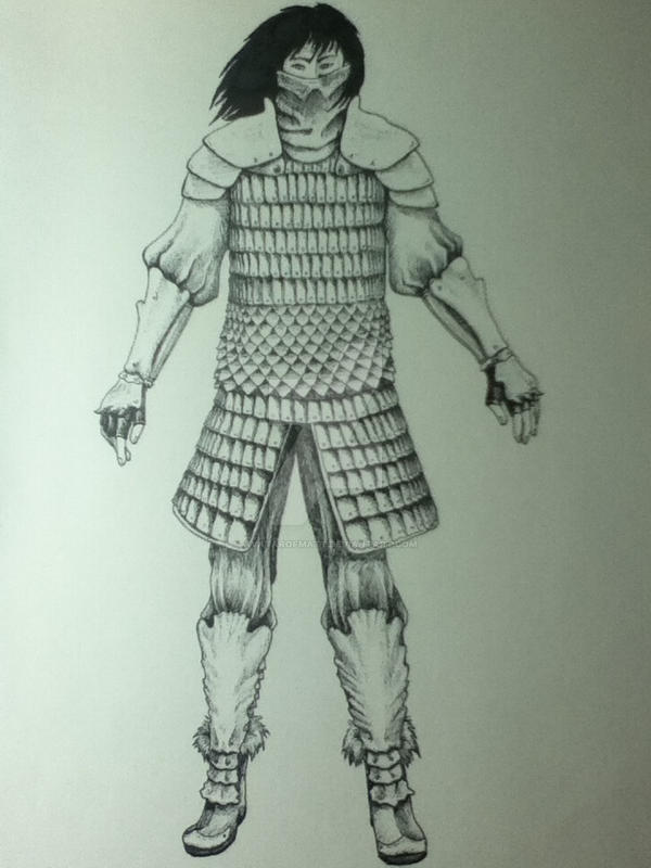 Kaiden Character Sketch 1 by AvatarofMatt