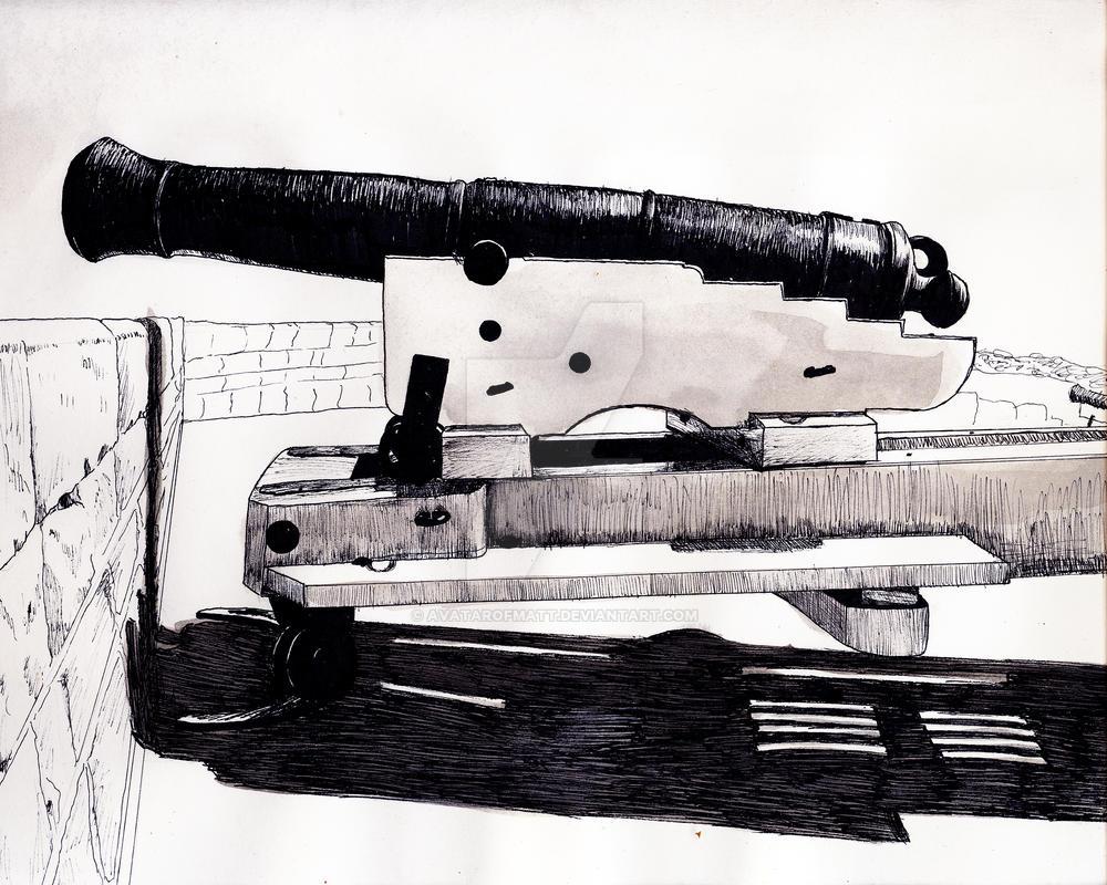 Fort Henry Cannon by AvatarofMatt