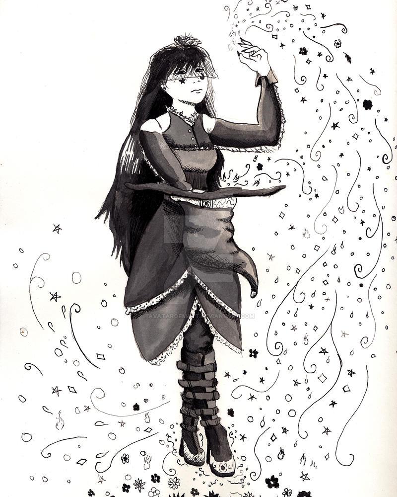 Magician Girl by AvatarofMatt