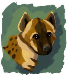 Hyena by Ocny