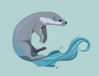 River Otter by Ocny