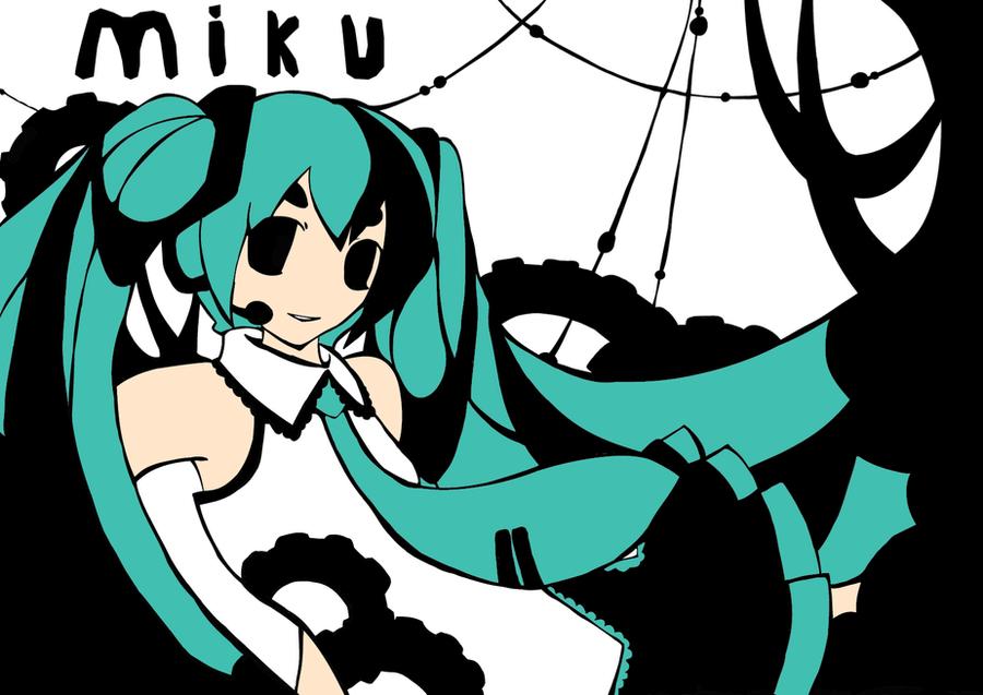 Miku Hatsune by UnknownSpy