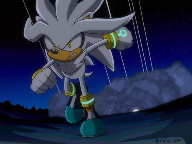 Silver In Sonic X By UnknownSpy On DeviantArt