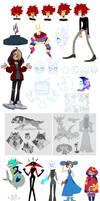 a buncha doodles dump