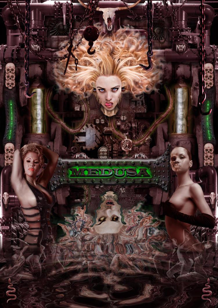 Medusa V4 by sidewinder9