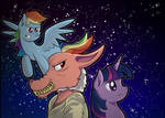 A Pony Space Adventure... With a Rat Thingy
