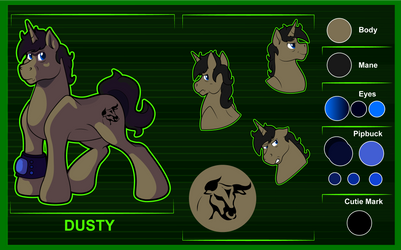 Dusty [Reference Sheet]