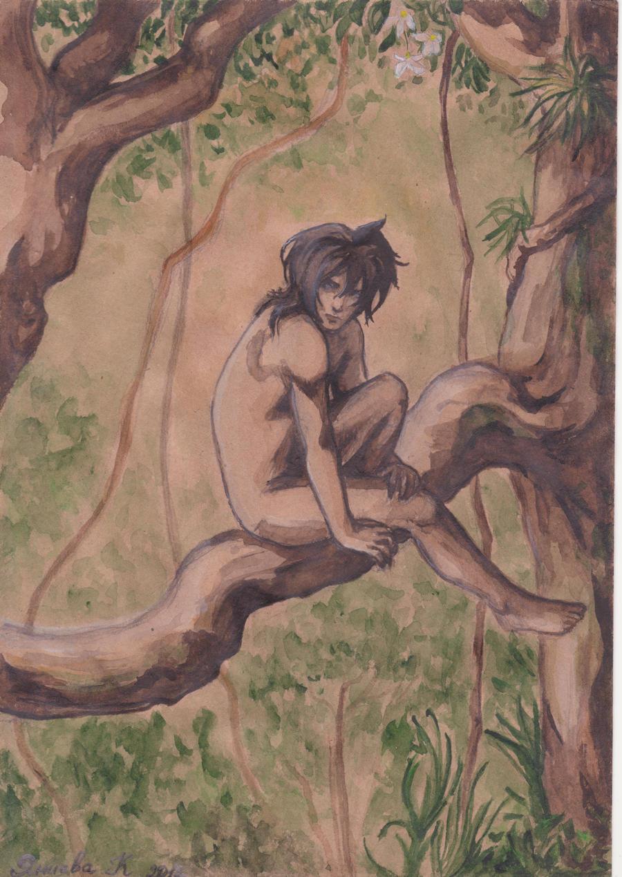 young Mowgli (2012) by Kaya888